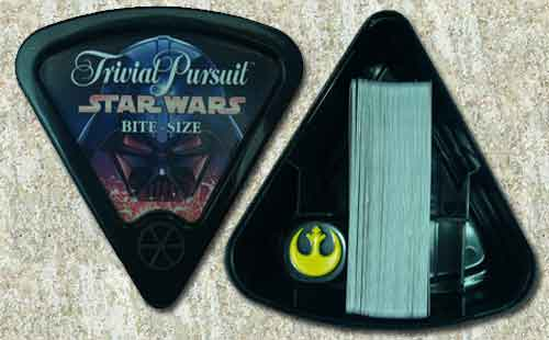 Star Wars Trivial Pursuit Bite Size Box