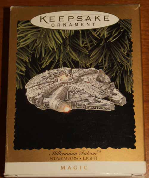 Hallmark Keepsake 1996 Millenium Falcon Box