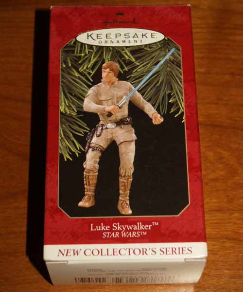 Hallmark Keepsake 1997 Luke Skywalker Box
