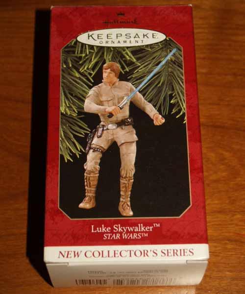 Hallmark Keepsake 1997 Luke Skywalker Box
