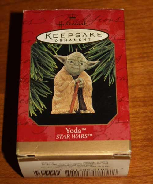 Hallmark Keepsake 1997 Yoda Box