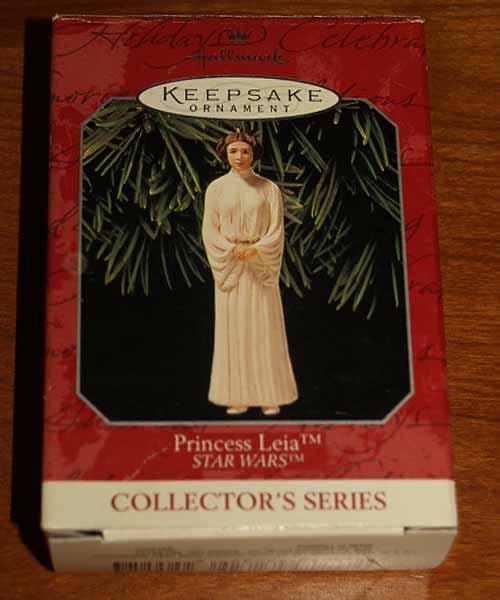 Hallmark Keepsake 1998 Princess Leia Box