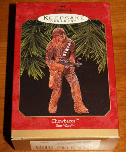 Hallmark Keepsake 1999 Chewbacca Box