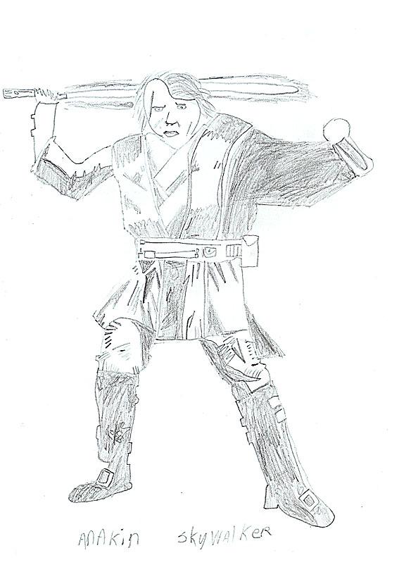 Anakin Skywalker drawing
