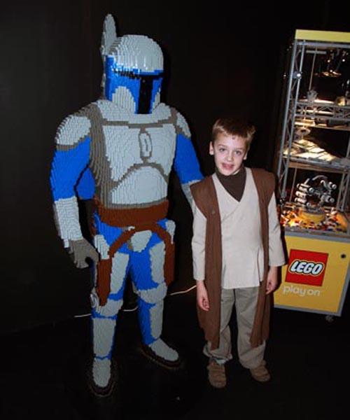 Big Jango Fett Lego