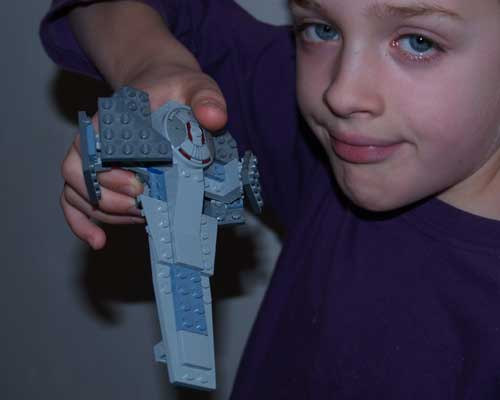 Mini Lego Star Destroyer