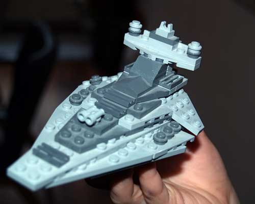 Go from Mini Lego Star Destroyer to Star Wars Lego Ships