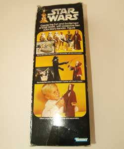 Obi-Wan Vintage doll box back