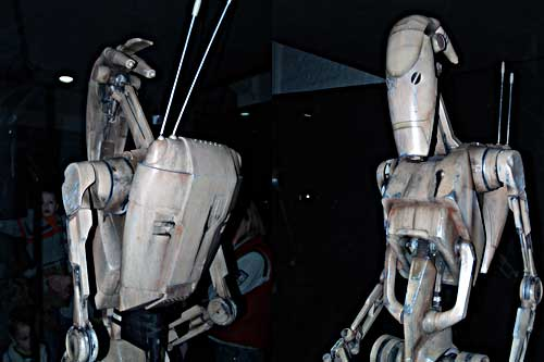 Real Battle droid