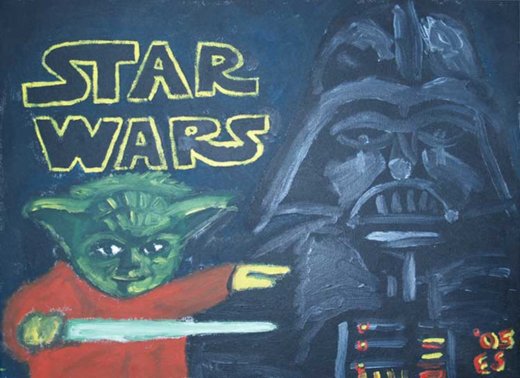 Star Wars Painting