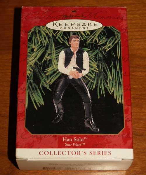 Hallmark Keepsake 1999 Han Solo Box