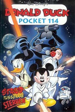 Donald Duck pocket 114 - Strijd tussen de Sterren