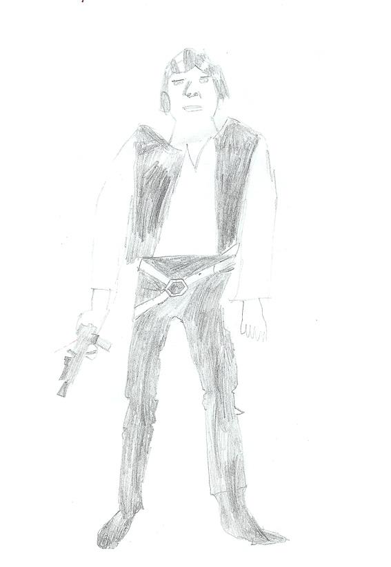 Han Solo drawing