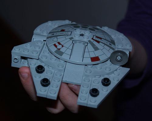 Mini Lego Millenium Falcon