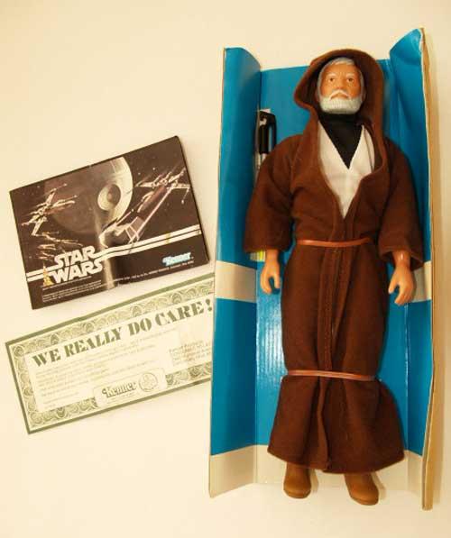 Ob-Wan Vintage doll Big