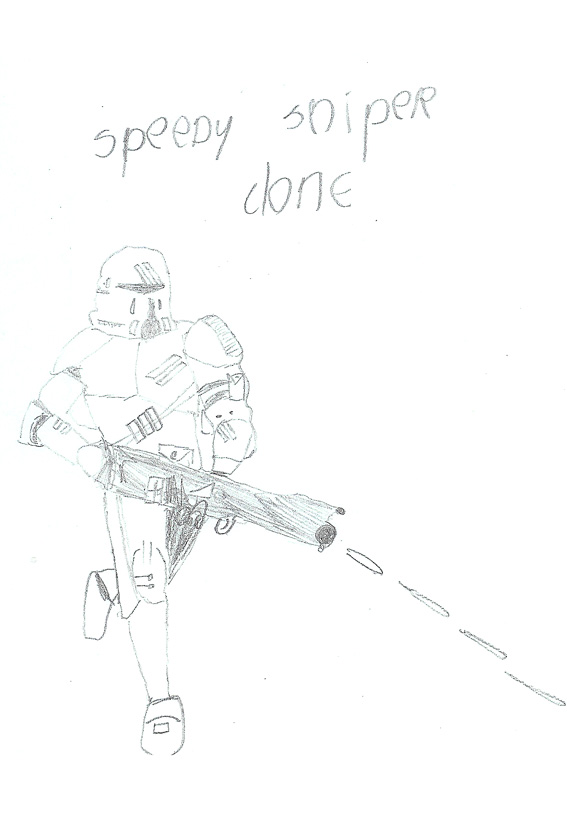 Speedy Sniper Clone drawing